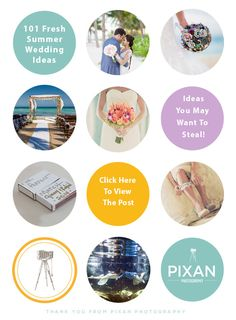 Thinking about a #destinationwedding next summer? Contact us now and we can make any of these ideas a reality!