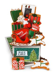 Remember putting the carrot and brandy by the fireplace- we've got all the essential Christmas eve icons in edible form!