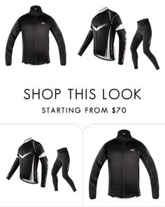 winter cycling by minozlli on Polyvore featuring men's clothing, men's fashion, women, men, male,female, cycling,