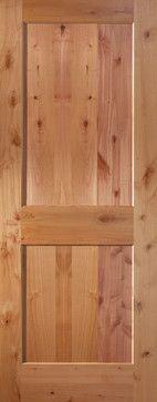 Knotty Alder Shaker Style Two Panel Flat Interior Door Styles, Best Home Interior Design, Interior Trim, Entry Doors With Glass, Wood Entry Doors, Glass Door, Knotty Alder Doors, Fiberglass Entry Doors, Internal Doors