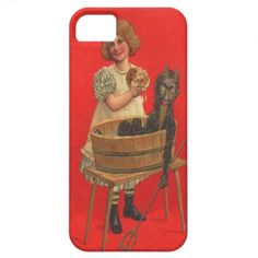 Child Washing Krampus iPhone 5 Cover