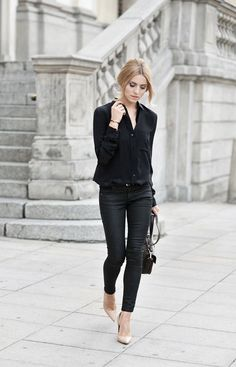 black and nude style