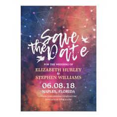 vibrant idea yellow picture frames. Wedding Save The Date Chic Star Sky Constellations Card Modern Vibrant Floral Appointment Business  Appointments