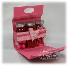 step by step with video. cute. shows you how to make the box for this adorable packaging