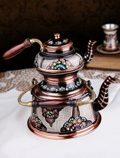 ed artisans in Turkey. Carefully etched with elaborate designs, polished and painted with bright colors. They look like pieces of art but ar...