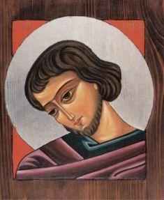 Ikona Św. Józefa (Mt 1, 20-21)