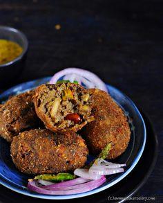 mocha, banana flower, banana blossom recipe, how to prepare banana flower for cooking, bengali mocha recipe, chop recipes, kolkata food blogger. food blogger from kolkata, kfb, authentic bengali recipes, bengali sweet recipe blog, best pithe recipes, trad