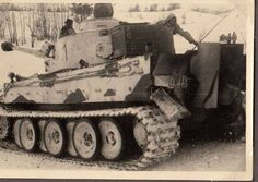 Tiger 1....Winter camouflage