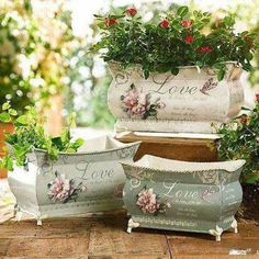 Pretty containers