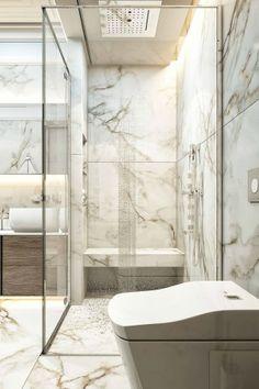 Details of a Modern Bathroom Renovation with Farmhouse and Traditional Design de… – Marble Bathroom Dreams Bathroom Light Fixtures, Bathroom Faucets, Bathroom Storage, Marble Bathrooms, Washroom, Modern Master Bathroom, Small Bathroom, Minimalist Bathroom, Bathroom Styling
