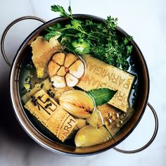 Parm broth  Use this rich and versatile broth in vegetable soups, instant-supper pastas, such as Capellini en Brodo, and beans in need of a boost.