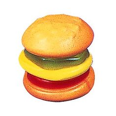 Gummy burger!