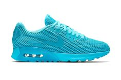 175c5705f38a Women s Nike Air Max 90 Ultra Br Athletic Light Weight Sneakers 725061 401 Gamma  Blue