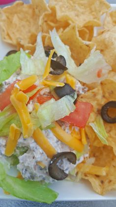 The best taco dip - EVER!