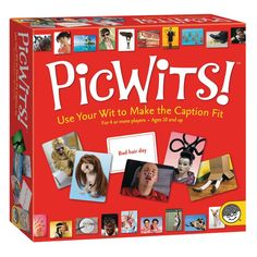 Every picture is worth a thousand laughs as players try to match their PicWits photo cards with the judges caption card. Which picture in your hand is the perfect fit? Of course, it all depends upon personal perspective! Your photo card will be assessed against the cards of your competitors; the match-ups can be literal or ludicrous, accurate or outrageous. If the judge picks your card, you win the round! Each round is filled with surprising and comical comparisons from a wide range of…