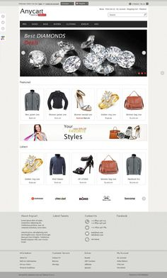 Anycart - Premium OpenCart Fashion Store Theme