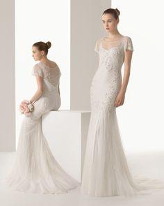 Idilio vestido de novia soft Rosa Clara