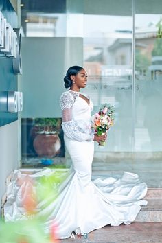 Wedding Shower Gifts, Wedding Favors, Bridal Hair Down With Veil, Bridal Gowns, Wedding Gowns, Groomsmen Tuxedos, Natural Wedding Hairstyles, Black Weddings, Girls Dresses