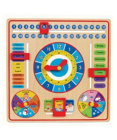 All About Today Board by Small World Toys on #zulily