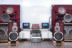 YAMAHA NS-1000M オーバーホール済 オックスブラッド新品塗装 - ケンリックサウンド(KENRICK SOUND) - JBLスピーカー 43XXシリーズ 大型 中古ヴィンテージ専門店