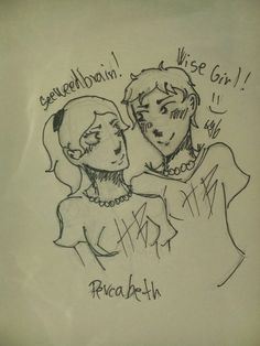 Percabeth ^^ my drawing