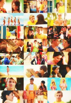 Teen beach movie (a story in pictures)