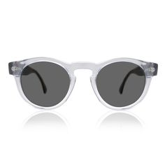 Sunglasses / Illesteva / Clear Frame