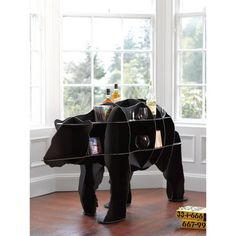 Polar bear, check. Storage, check! This is cute, striking and functional....>Polar bear  storage unit