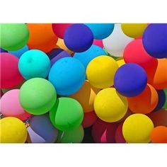Family Reunion Balloon Games - also fun ideas for birthday parties.