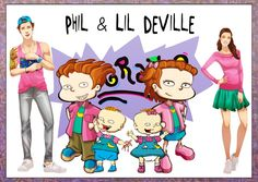 Your 14 Favorite Cartoons All Grown Up Kenny is definitely Phil. Cartoon Charecters, Cartoon Characters As Humans, Cartoon Crossovers, Movie Characters, Phil And Lil Rugrats, Rugrats All Grown Up, Nickelodeon Girls, Nickelodeon Cartoons, Rugrats Cartoon