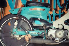 GasCap Motors Blog: Marks HONDA C70 from Atlanta