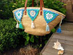 Ibiza style tas! crochet bag