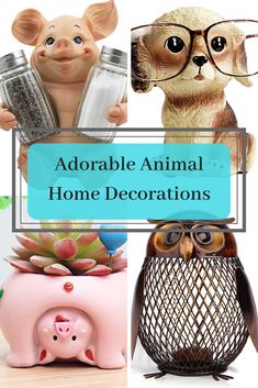 Animal Home decoration make such a great accent piece to any home decor. I have found these very adorable animal home decor pieces that will make a wonderful addition to any home decor.  I just had to share them! #fun #cute Home Wall Art, Wall Art Decor, Just Because Gifts, Elegant Watches, Cute Home Decor, Spa Gifts, Beautiful Interiors, Home Accents, Cool Gifts