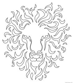 Stencils Of Lion Tattoos 33 Results picture 7300