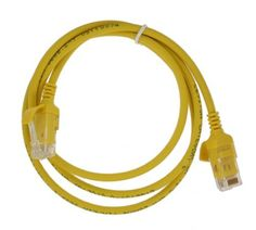 5-Pack Yellow Lynn Electronics CAT6-25-YE 25-Feet Patch Cable without Boots