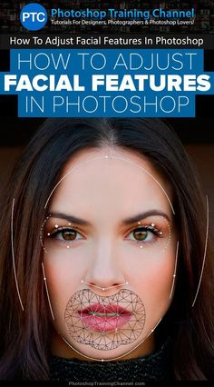 Photoshop Tutorial: Photo editing | In this video tutorial, I'm going to show you how to adjust facial features in…