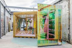 The Urban Cabin from MINI LIVING examines what the future could hold for city dwellers, celebrating immigration and cultural diversity while exploring design for life on a small footprint.