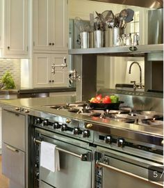 A Chef's Dream Kitchen  Professional Chef Kitchen Design And Hgtv Custom Chef Kitchen Design Inspiration Design