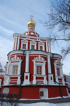 Assumption Church, Novodevichy Convent - Moscow, Russia