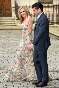 Loved-up: The classical singer was joined on the carpet by husband, Andrew, who she married in 2014 after a whirlwind romance Opera Dress, Katherine Jenkins, Royal Academy Of Arts, Digital Art Girl, Bridesmaid Dresses, Wedding Dresses, Female Singers, Hair Today, Mail Online