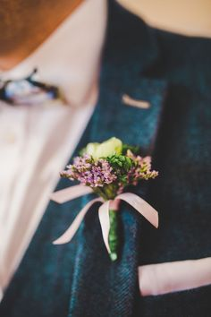 A Handmade, Vintage Inspired Wedding With Colourful Paper Tissue Floral Backdrop: Andrew & Clare