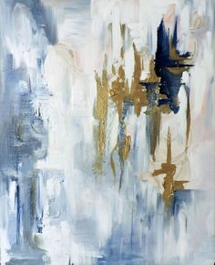 """""""Pride"""" a 16x20"""" acrylic on canvas painting for sale by Mandy Fitzgerald Artwork. $350 with FREE SHIPPING to anywhere in the US! This painting is all about pride and learning when to let go to move forward. Take a look! http://www.mandyfitzgerald.com , blue, bronze, navy, white, cream, pink, brick, wood, fine art, abstract, new art, interior design, interior decorating, decor"""