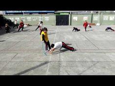Juegos Educación Física - Uno Contra Uno - YouTube