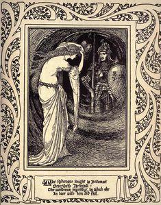 Walter Crane 'The Faerie Queene, Book V' by Edmund Spenser