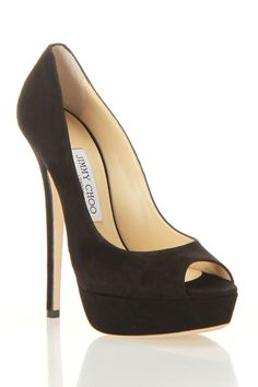 Jimmy Choo Vibe pumps in black....perfection