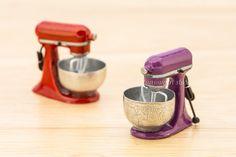 Dollhouse Miniature Resin Electric Flour Mixer by GlobalMiniatures