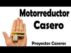 Como Hacer Un Motorreductor Casero (muy Fácil) - YouTube