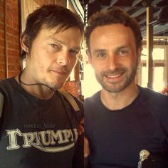 Daryl and Rick <3