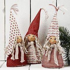 Выкройки мягких игрушек. Рождественские гномы
