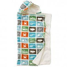 DwellStudio Hooded Towel – Transportation